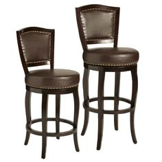 Billings Swivel Bar & Counter Stools - Brown | Pier 1 Imports