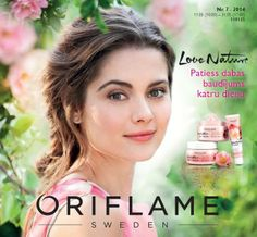 Klāt jaunais katalogs! Iepazīsties ar piedāvājumiem šeit:http://lv.oriflame.com/products/catalogue-viewer.jhtml?per=201407