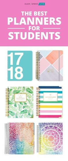 The Best Planners for Students For The Years To Come Pinterest
