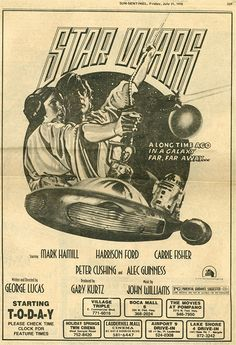 Vintage Star Wars Ad