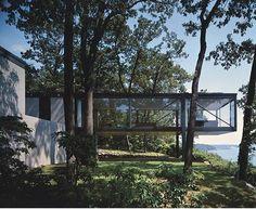 The Robert C. Leonardt House, Long Island NY, by Philip Johnson 1956
