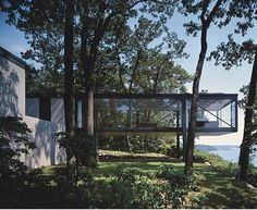 The Robert C. Leonardt House, Long Island NY, by Philip Johnson 1956