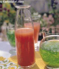 Guava Spritzer recipe | by Tarla Dalal | Tarladalal.com | #5019