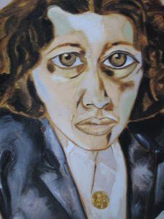 She told me he gave her this portrait. Portrait, Painting, Art, Art Background, Men Portrait, Painting Art, Paintings, Kunst, Portraits