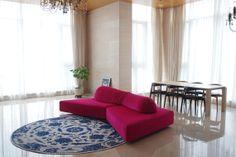 [Residential Space] Edra의 On the rocks sofa /  Moooi의 Moooi Carpet no.1