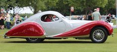 1937 Talbot-Lago T150 CSS. One of only 14 with aluminum bodywork.