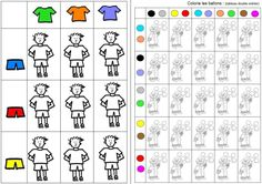 kombinuj a maluj Autism Activities, Toddler Activities, In Kindergarten, Preschool Activities, Visual Perceptual Activities, Brain Teasers For Kids, Mazes For Kids, File Folder Games, Learning Through Play