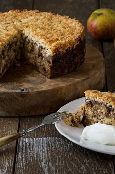 Recipe: Apple & Date Cake With Toffee Coconut Topping – Gluten Free Foodie – Desserts World Gluten Free Cakes, Gluten Free Baking, Cake Recipes, Dessert Recipes, Desserts, Lumberjack Cake, Sticky Date Pudding, Date Cake, Rhubarb Cake