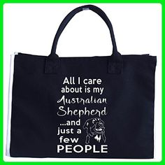 Australian Shepherd Gifts For Dog Owners Women Or Men - Tote Bag - Top handle bags (*Amazon Partner-Link)