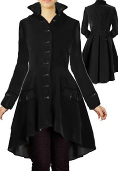 Victorian Velvet Coat By Amber Middaugh