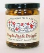 Fall is in the air! Makes me want to go apple picking. Here's the closest thing until I get out there...Maple Apple Drizzle from Side Hill Farm! Yum!!!