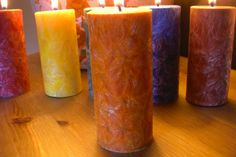 FREE SHIPPING  Leo Hand Poured Pillar by divinescentsations, $18.00