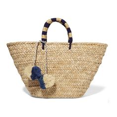 Straw Basket Bags | sheerluxe.com
