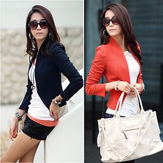 Women's Trim Slim Blazer – USD $ 22.19