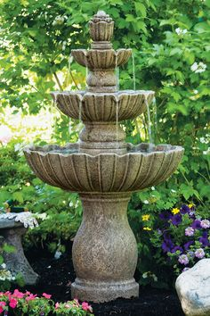 "54"" Mirabella Scallop Fountain 