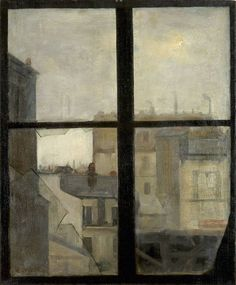 Ernst Oppler (Hanover 1867–1929 Berlin, Germany), Look through a window, undated.