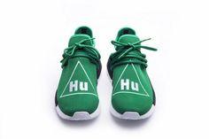 e04c81253ff43 UA Unisex NMD HU Human Race Green Sport Running shoes Sneaker
