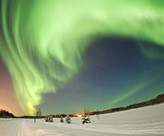 On the bucket list...see the Northern Lights from Alaska