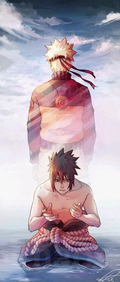 Naruto and Sasuke Wallpaper ♥♥♥ #beautiful #fanart