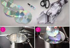 DIY- CD Collar
