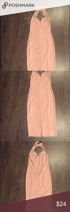 Charlotte Russe new soft pink dress Soft pink new dress without tags. Never worn. Charlotte Russe Dresses