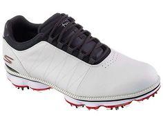 Golf Shoes 181136: Skechers Go Golf Pro Golf Shoes White Navy 7.5 Medium -> BUY IT NOW ONLY: $59.96 on eBay!