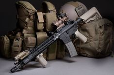 Rifle with Bravo Company KMR Handguard Bcm Rifles, Ar Rifle, Ar 15 Builds, Ar Build, Battle Rifle, Tac Gear, Fire Powers, Ares, Hunting Rifles