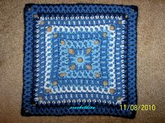Ravelry: Fox's Dreamsickle Square pattern by Donna Mason-Svara Crochet Squares, Crochet Granny, Granny Squares, Crochet Motif, Big Granny, Eyelet Lace, Crafts To Do, Crochet Projects, Projects To Try