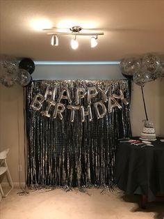47 Ideas birthday surprise ideas diy sweets for 2019 21 Party, Festa Party, 21st Bday Ideas, Birthday Party Ideas For Adults, 30th Birthday Parties, 60th Birthday Decorations, Surprise Party Decorations, 21st Decorations, Diy Birthday Backdrop