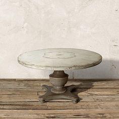 Bianca Round Bell' Arte Dining Table | Arhaus Furniture