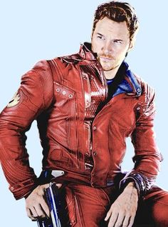 Chris Pratt as Star-Lord.
