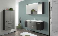 Combine melamines Black Havana Pine and Aluminium for your bathroom. Double Vanity, Bathroom, Havana, Design, Black, Madness, Washroom, Black People, Full Bath