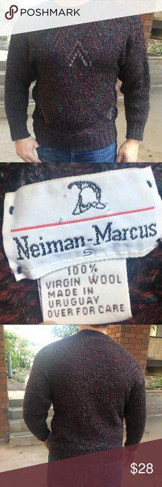 Neiman Marcus Uruguay Wool Sweater Classy Wool Sweater - top notch Neiman Marcus Sweaters Crewneck