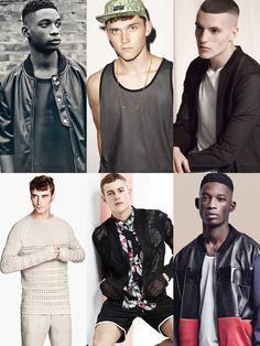Men's 2014 Spring/Summer Fabric Trend: Mesh Lookbook Inspiration
