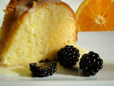 Orange Velvet Pound Cake
