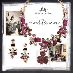 THE artisan - color your world with a collection rich in wit + charm https://www.chloeandisabel.com/boutique/jenniferapril
