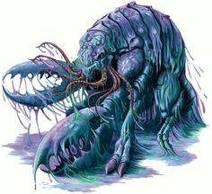 Pim-skwa-wagen-owad- Abenaki myth: small, aquatic, pinching creatures