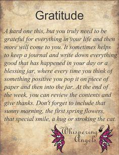 Gratitude http://www.whisperingangels.co.za