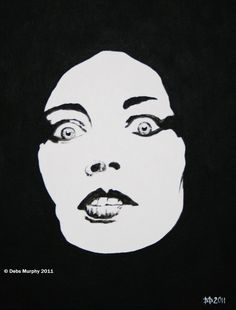 Painting of Lene Lovich