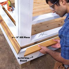 How to Build a Porch: Screen Porch Construction - Porch Decorating Screened In Porch Diy, Screened Porch Decorating, Front Porch, Porch Windows, Porch Roof, House With Porch, House Roof, Roof Boards, Trim Board