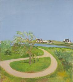 jane_freilicher | Jane Freilicher, Turnaround, 1965, oil on canvas, 68 x 60 inches