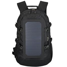 a57aad9a348 Hiking Backpack,Solar Powered Backpack,Laptop Backpack With Solar Panel  Charger,Hiking Daypack For Iphone Ipad Waterproof Nylon Camping Hunting And  Outdoor ...
