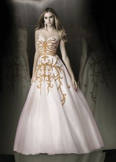 Xcite Prom - Gold detailing is nice.
