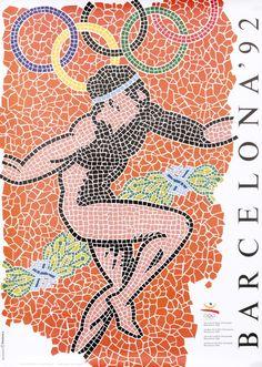 Barcelona '92 by Rolando, Carlos | Shop original vintage #posters online: www.internationalposter.com.
