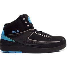 071c3dc23a7 Air Jordan 2 Nuggets pe Melo Black Blue   62.00 Nike Air Jordan Retro