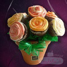 Regalo especial y delicioso. Cursos de Cupcakes www.paulitas.com