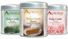 So lovely! Aurorae Scented Soy Wax Candle Gift Set Giveaway - Heartbeats~ Soul Stains