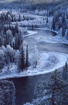 Oulanka National Park, Kuusamo, Finland