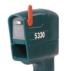 Step2 MailMaster Trimline Plus Mailbox in Stone-532000 - The Home Depot