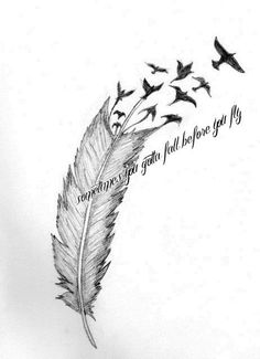Feather tattoo that I reallllllly want